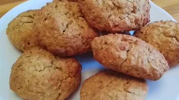 Как испечь овсяное печенье из овсяных хлопьев